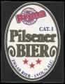 Prima Pilsener Bier - Squarely Frontlabel