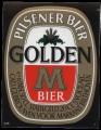 Golden M - Squarely Frontlabel