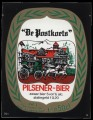 De Postkoets Pilsener Bier - Squarely Frontlabel