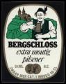 Bergschloss extra mountig pilsener - Squarely Frontlabel