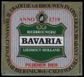 Bavaria Pilsener Bier - Squarely Frontlabel