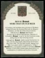 Royal Brand - Backlabel