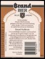 Brand Bier - Backlabel