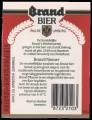 Brand Pilsener - Backlabel