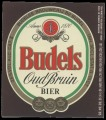 Budels Oud Bruin - Frontlabel