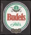 Budels Pils Bier - Frontlabel