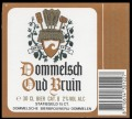 Dommelsch Oud Bruin - Frontlabel