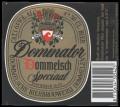 Dommelsch Dominator Special - Frontlabel