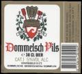 Dommelsch Pils - Frontlabel