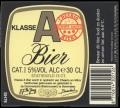 Klasse A Bier - Frontlabel