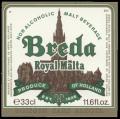 Breda Royal Malta - Frontlabel