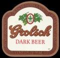 Dark beer - Frontlabel