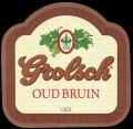 Oud Bruin - Frontlabel