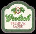 Premium Lager Export UK - Frontlabel