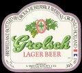 Lager Beer Export Australia - Frontlabel