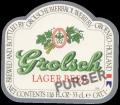 Lager Beer Purser - Frontlabel