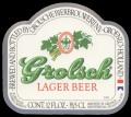 Lager Beer Export USA - Frontlabel