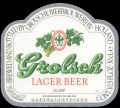 Lager Beer Export UK - Frontlabel