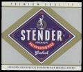 Stender Premium Alcoholvrij Bier - Frontlabel