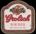Bok Bier Oogst 1991 - Frontlabel
