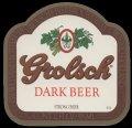 Dark Beer Strong Beer Export USA - Frontlabel