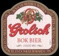 Bok Bier Oogst 1992 Cat. S - Frontlabel