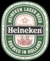 Heineken Lager Beer export USA - Frontlabel