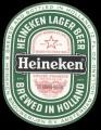 Heineken Lager Beer strong beer - Frontlabel