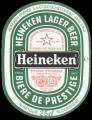 Heineken Lager Beer export France - Frontlabel