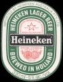 Heineken Lager Beer export Australia - Frontlabel