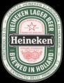 Heineken Lager Beer spanish text - Frontlabel