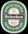Heineken Lager Beer - Frontlabel