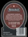 Special dark beer export USA - Backlabel