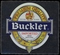 Buckler imported from Holland - Frontlabel
