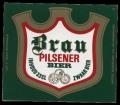 Brau Pilsener Bier - Frontlabel