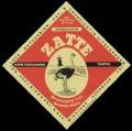 Zatte Amsterdamse Tripel - Frontlabel