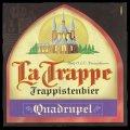 La Trappe Trappistenbier Quadrupel - Frontlabel