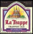 La Trappe Trappist Ale Quadrupel - Frontlabel