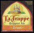 La Trappe Trappist Ale Tripel - Frontlabel