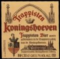 Trappistenbier - Frontlabel