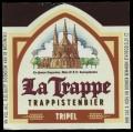 La Trappe Trappistenbier Tripel - Frontlabel