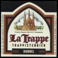La Trappe Trappistenbier Dubbel - Frontlabel