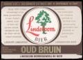 Lindeboom Bier Oud Bruin - Frontlabel