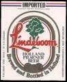 Lindeboom Holland Pilsener Beer export USA - Frontlabel