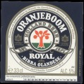 Oranjeboom Royal Birra Olandese - Frontlabel