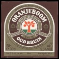 Oranjeboom Oud Bruin - Frontlabel