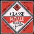 Classe Royale Pilsener Speciale - Frontlabel