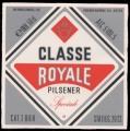 Classe Royale Pilsener - Frontlabel