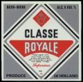 Classe Royale - Frontlabel