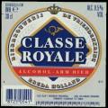 Classe Royale Alcohol-arm Bier - Frontlabel
